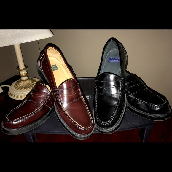 2 Pairs Nunn Bush Lincoln Penny Loafers
